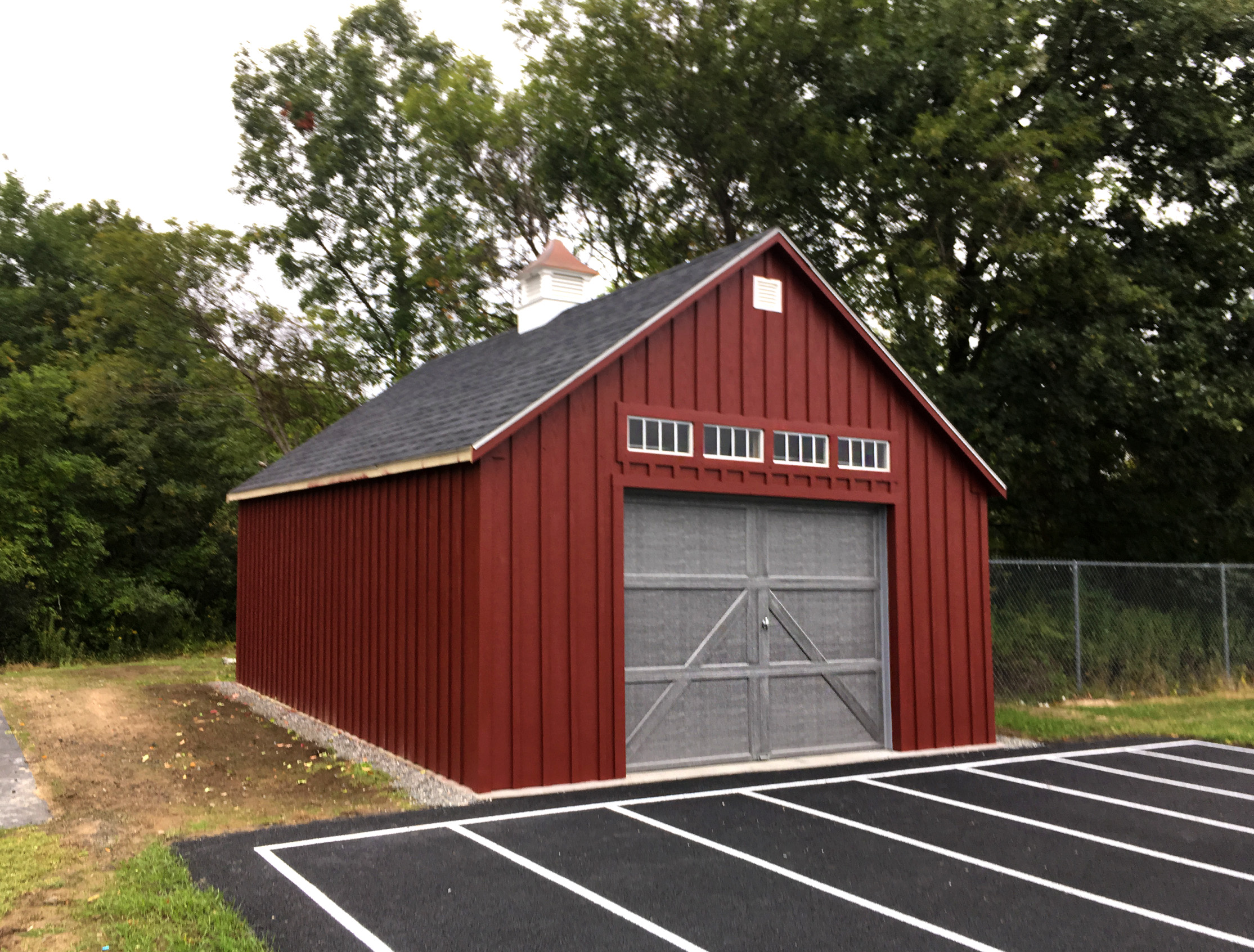 Outbuilding at Jack Welch Stadium, Ipswich High School, Massachusetts