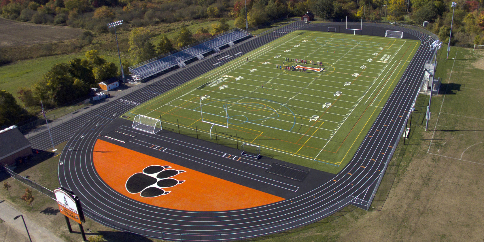 Jack Welch Stadium, Ipswich High School, Massachusetts