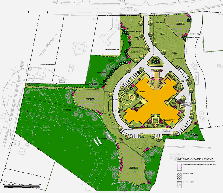 Capital Senior Housing site plan