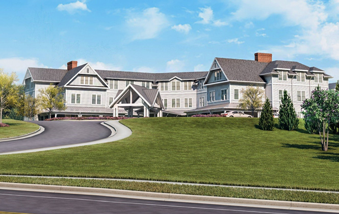 Capital Senior Housing rendering